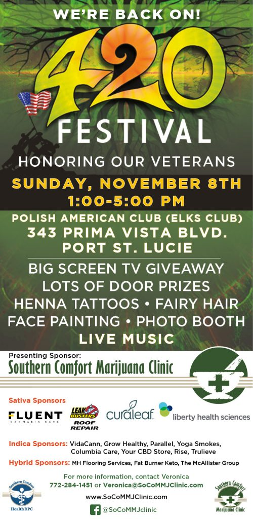 420 Festival - Honoring Our Veterans! @ Polish American Social Club (Home of the Elks Club) | Port St. Lucie | Florida | United States