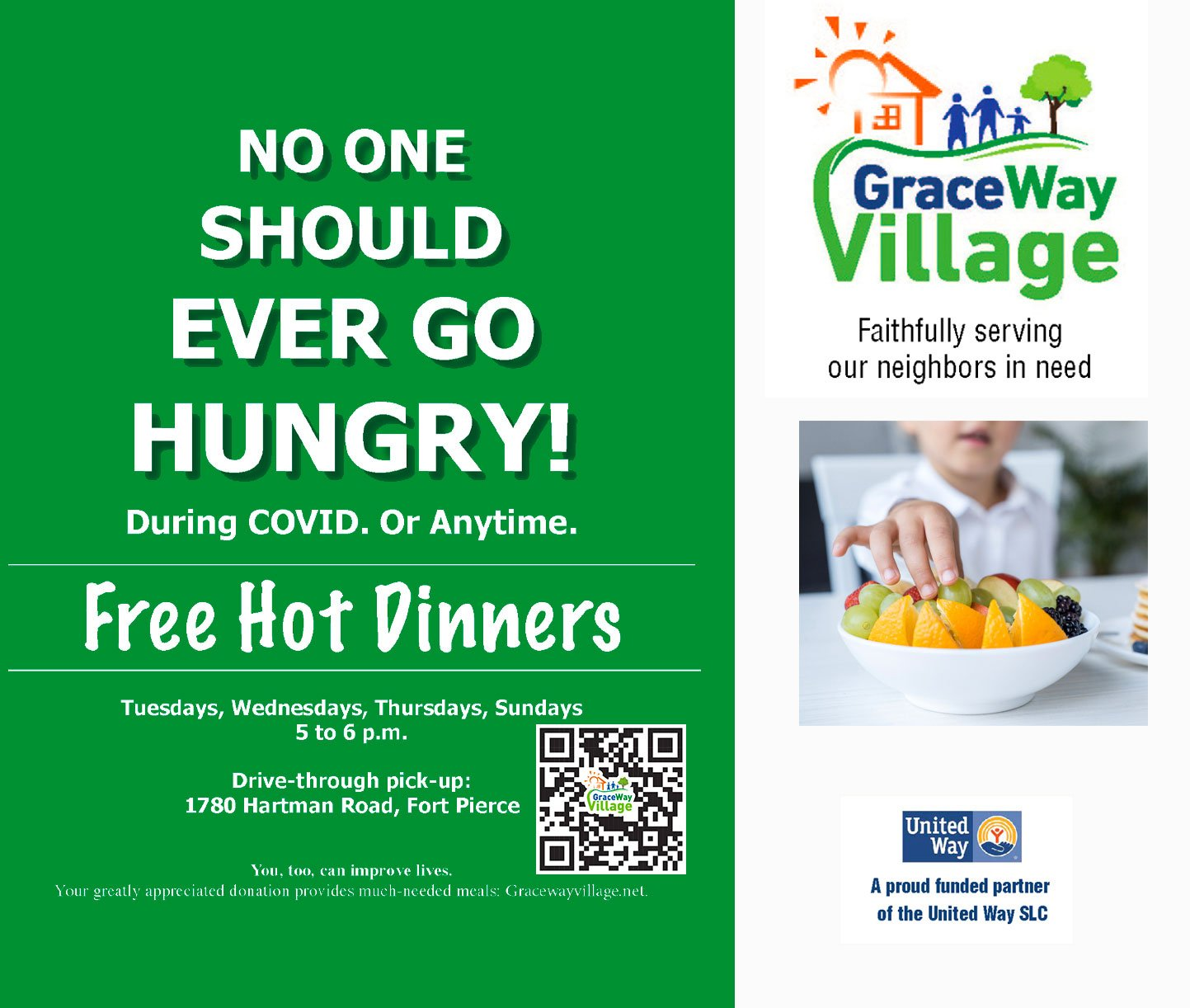 graceway village feed the hungry